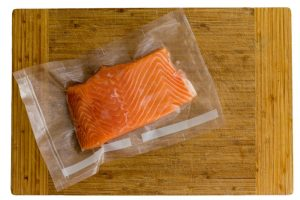 Thawing Process of Salmon