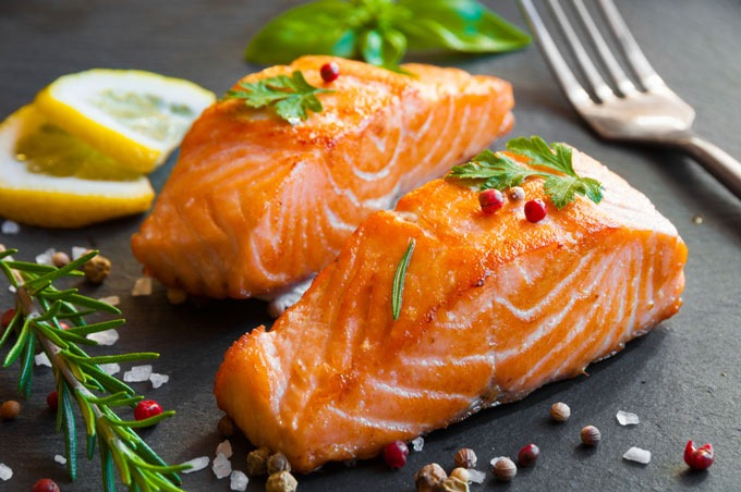 is salmon good for cats
