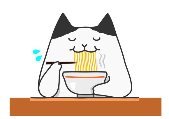 Are noodles heathy for cats